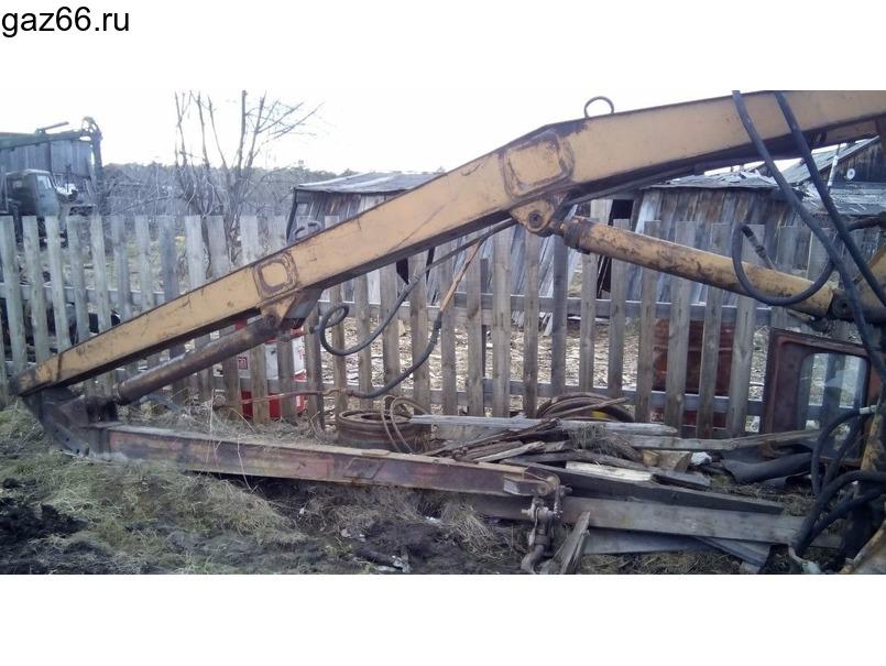 Манипулятор для леса - 1