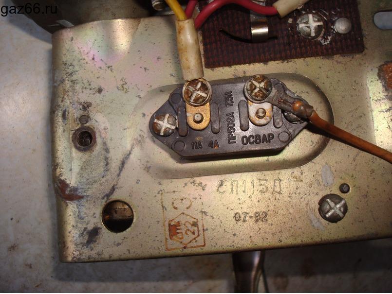 Привод стеклоочистителя ГАЗ-66 - 2