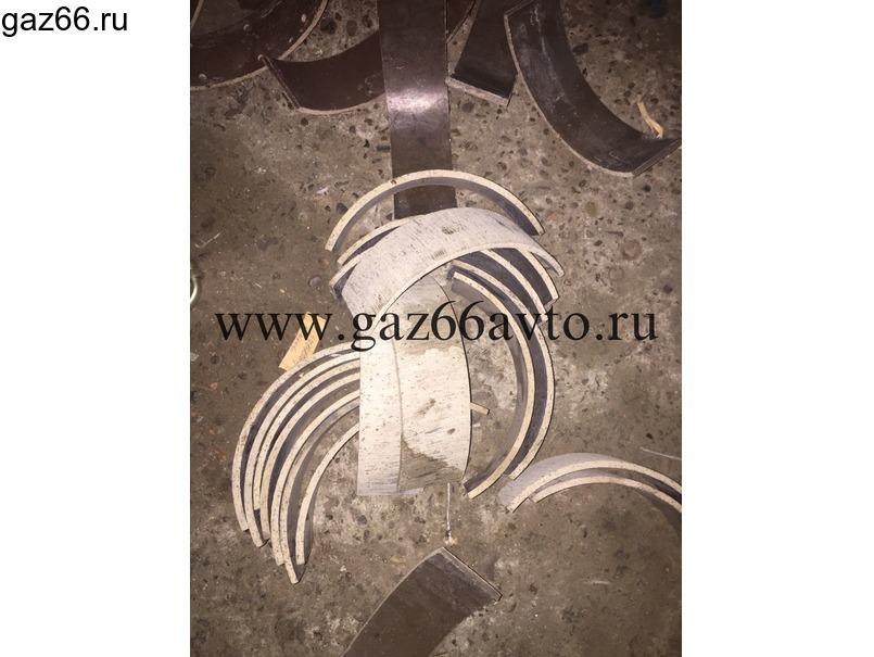 Накладка колодки стояночного тормоза ГАЗ-6 - 1