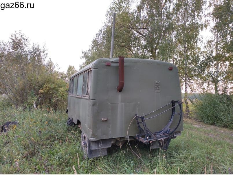 Газ 66 вахтовка - 4