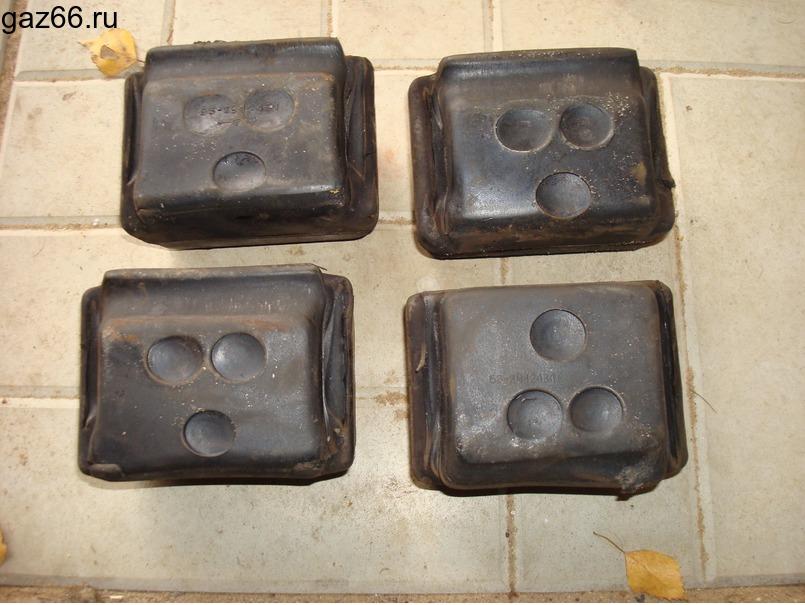 Опора рессоры верхняя ГАЗ-66 - 2