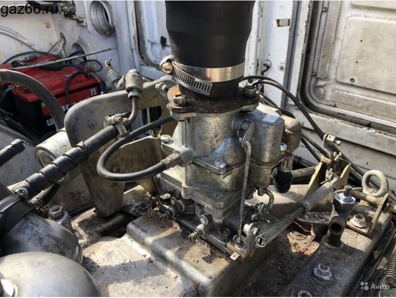 Двигатель Брдм-2 с кпп, ком и насосом гур (Газ-41) - 1