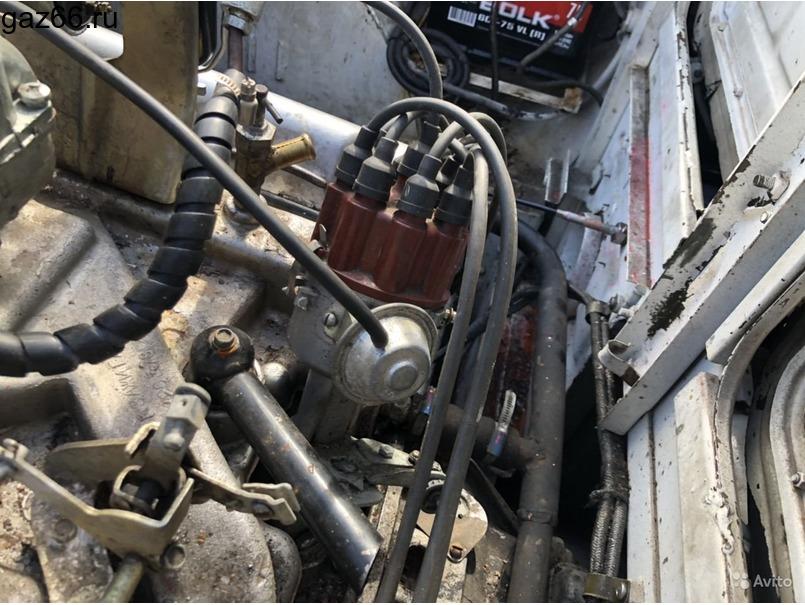 Двигатель Брдм-2 с кпп, ком и насосом гур (Газ-41) - 2