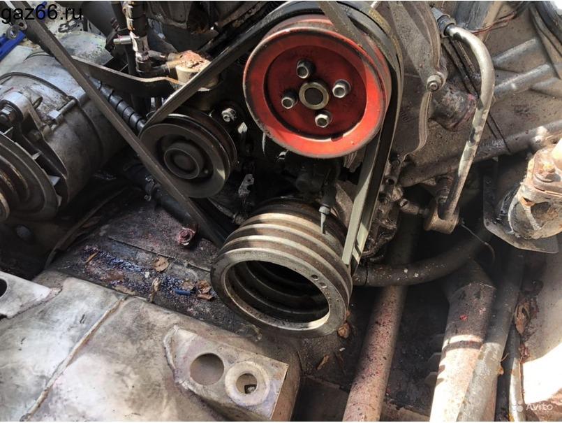 Двигатель Брдм-2 с кпп, ком и насосом гур (Газ-41) - 3