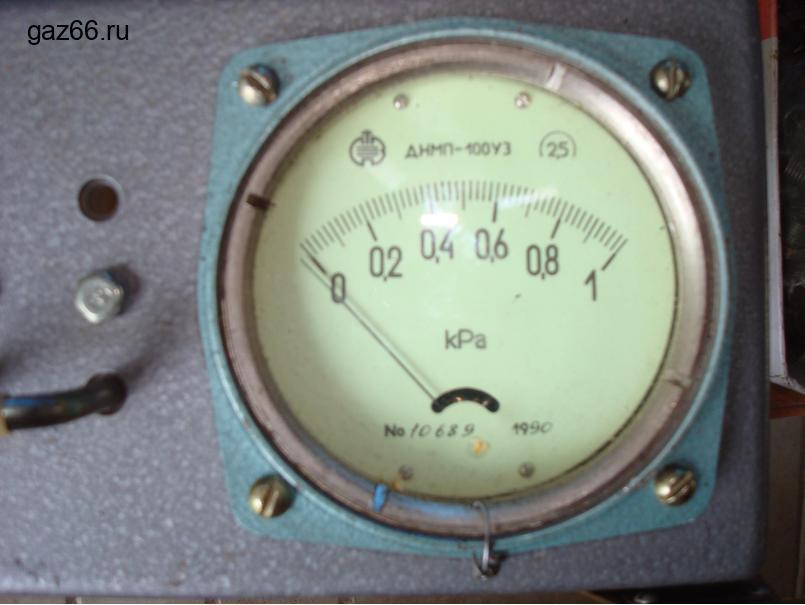 Дифманометр-напоромер ДНМП-100У3 - 2