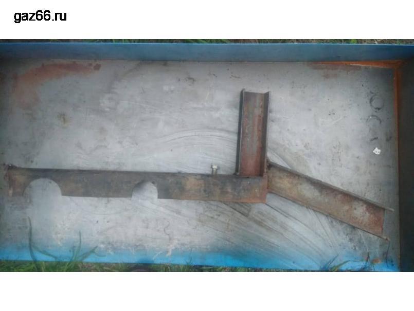 Лебедка ГАЗ 66 в разборе - 4