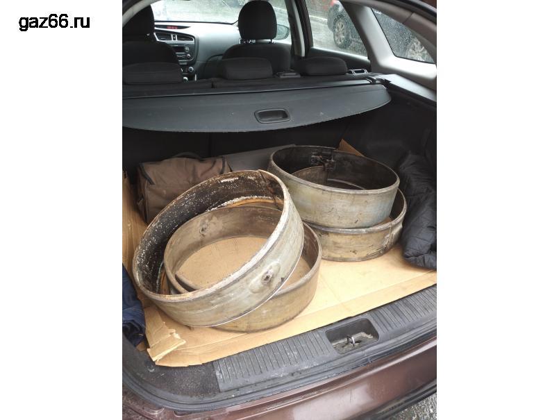 Флиперы ГАЗ 66 распорные кольца - 1