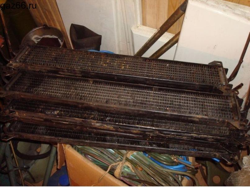 Масляный радиатор ГАЗ-66 - 2