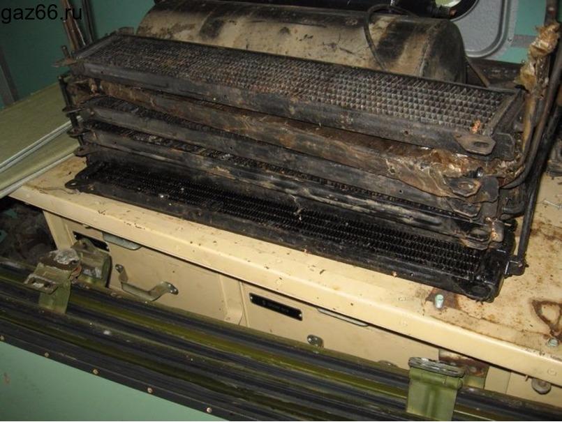 Масляный радиатор ГАЗ-66 - 3
