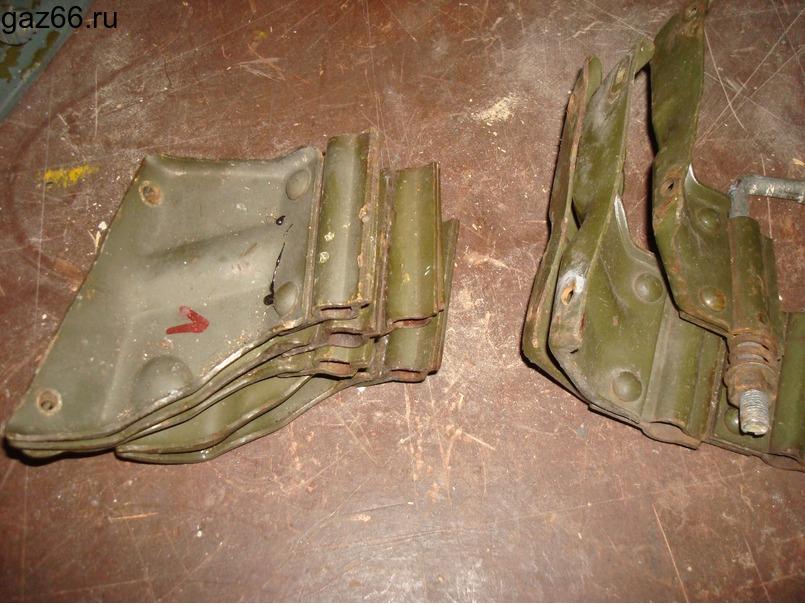 Кронштейны зеркал ГАЗ-66 - 1