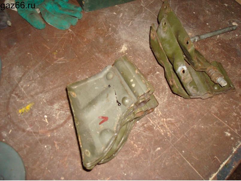 Кронштейны зеркал ГАЗ-66 - 2